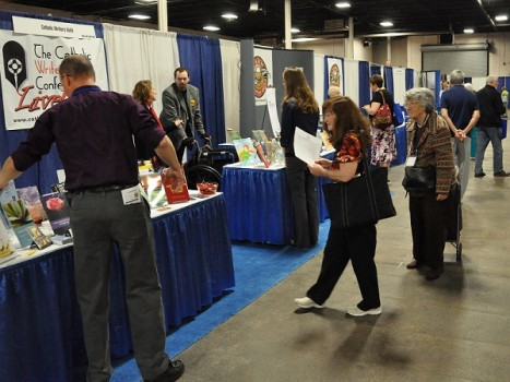 Catholic Marketing Network tradeshow booth