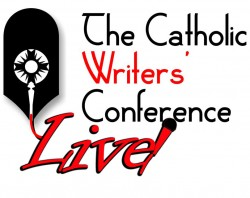 Catholic Writers Conference Live! Logo.